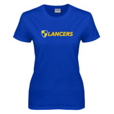 Ladies Royal T Shirt-Shield Lancers
