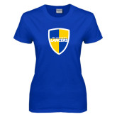 Ladies Royal T-Shirt-Shield