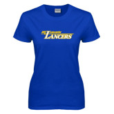 Ladies Royal T-Shirt-USC Lancaster Lancers