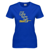 Ladies Royal T-Shirt-USCL Lancers