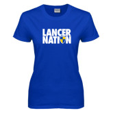 Ladies Royal T Shirt-Lancer Nation