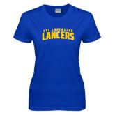 Ladies Royal T Shirt-Arched USC Lancaster Lancers
