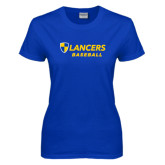 Ladies Royal T-Shirt-Baseball