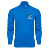 Syntrel Royal Blue Interlock 1/4 Zip-Primary Logo