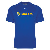 Under Armour Royal Tech Tee-Shield Lancers