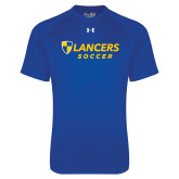 Under Armour Royal Tech Tee-Soccer
