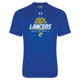 Under Armour Royal Tech Tee-Lancers Volleyball Half Ball