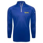 Under Armour Royal Tech 1/4 Zip Performance Shirt-Shield USCL