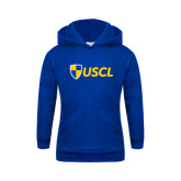 Youth Royal Fleece Hoodie-Shield USCL