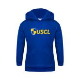 Youth Royal Fleece Hoodie-Shield USCL