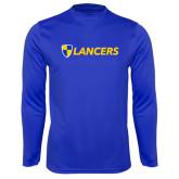 Syntrel Performance Royal Longsleeve Shirt-Shield Lancers