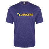 Performance Royal Heather Contender Tee-Shield Lancers