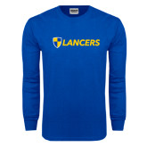 Royal Long Sleeve T Shirt-Shield Lancers