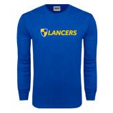 Royal Long Sleeve T Shirt-Shield Lancers