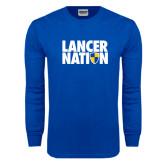 Royal Long Sleeve T Shirt-Lancer Nation