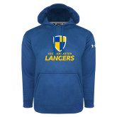 Under Armour Royal Performance Sweats Team Hood-Primary Logo