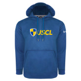 Under Armour Royal Performance Sweats Team Hoodie-Shield USCL