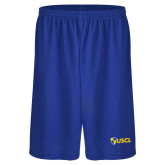 Russell Performance Royal 9 Inch Short w/Pockets-Shield USCL