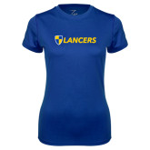 Ladies Syntrel Performance Royal Tee-Shield Lancers