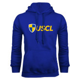 Royal Fleece Hoodie-Shield USCL