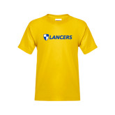 Youth Gold T Shirt-Shield Lancers