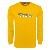 Gold Long Sleeve T Shirt-USC Lancaster Lancers