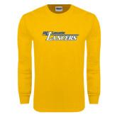 Gold Long Sleeve T Shirt-USC Lancaster Lancers