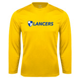 Performance Gold Longsleeve Shirt-Shield Lancers