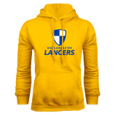Gold Fleece Hood-Primary Logo