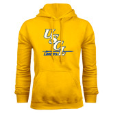 Gold Fleece Hood-USCL Lancers