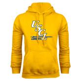 Gold Fleece Hoodie-USCL Lancers