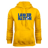 Gold Fleece Hood-Lancer Nation