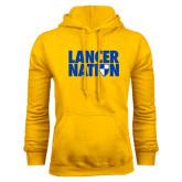Gold Fleece Hoodie-Lancer Nation