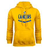 Gold Fleece Hood-Lancers Baseball Plate
