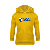 Youth Gold Fleece Hoodie-Shield USCL