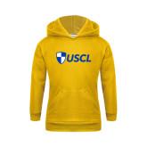Youth Gold Fleece Hoodie-Shield USCL