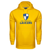 Under Armour Gold Performance Sweats Team Hood-Primary Logo