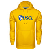 Under Armour Gold Performance Sweats Team Hood-Shield USCL