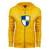 ENZA Ladies Gold Fleece Full Zip Hoodie-Shield