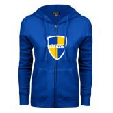 ENZA Ladies Royal Fleece Full Zip Hoodie-Shield