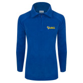 Columbia Ladies Half Zip Royal Fleece Jacket-Shield USCL