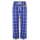 Royal/White Flannel Pajama Pant-Shield USCL