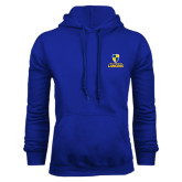 Royal Fleece Hood-Primary Logo