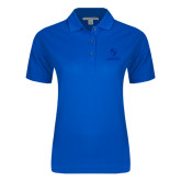 Ladies Easycare Royal Pique Polo-Primary Logo