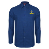 Red House Royal Diamond Dobby Long Sleeve Shirt-Primary Logo