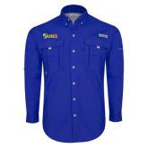 Columbia Bahama II Royal Long Sleeve Shirt-Shield USCL