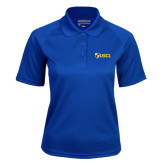 Ladies Royal Textured Saddle Shoulder Polo-Shield USCL