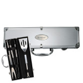Grill Master 3pc BBQ Set-Shield Lancers Engraved