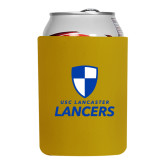 Neoprene Gold Can Holder-Primary Logo