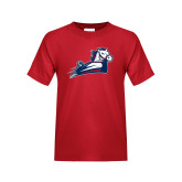 Youth Red T Shirt-Secondary Mark